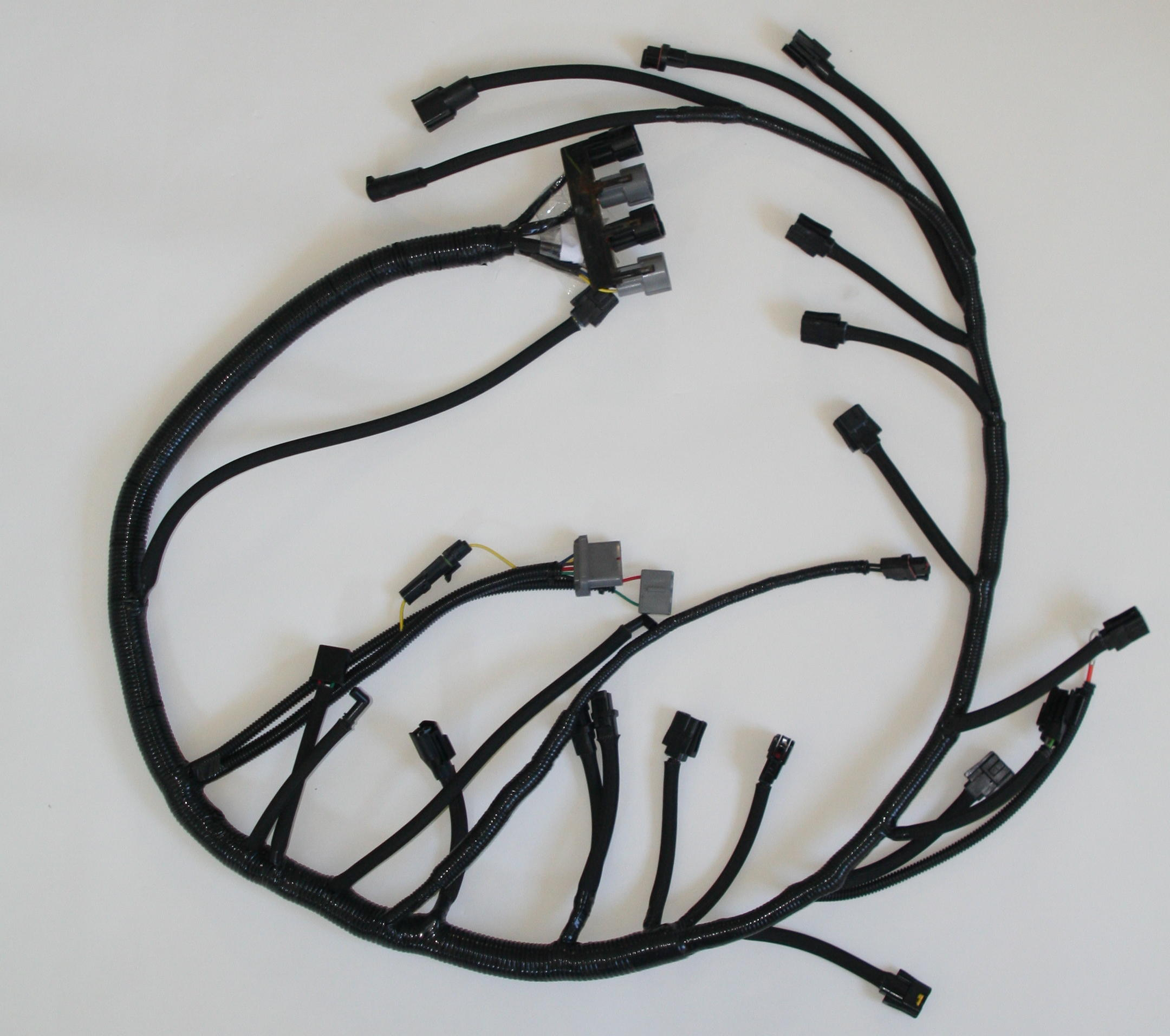 ford replacement harnesses this is a direct fit replacement for the engine harness found on 1989 ford bronco f 150 and f 250 harness is correctly dimensioned and finished