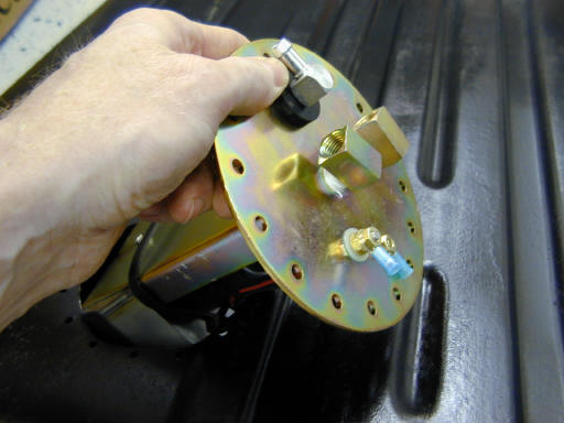 Tanks Fuel Pump Install